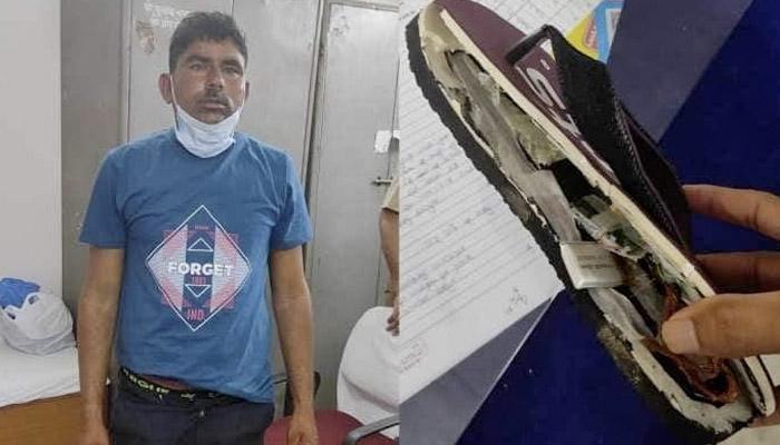 Pillan en India a un grupo de futuros profesores que iban a examinarse con un sistema inalámbrico escondido en las chanclas